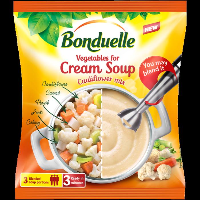 Amestec de legume pentru supă cremă de conopidă