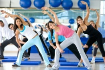 Aerobic exercises the cardiovascular system reacts to body's physical load by increasing the oxygen intake.