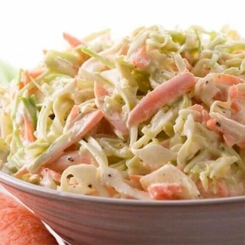 Koulslou salatı