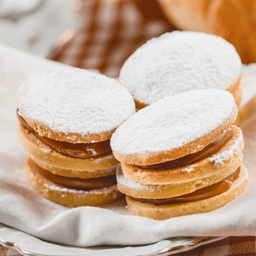 Alfaxores- qatılaşdırılmış südlü biskvitlər