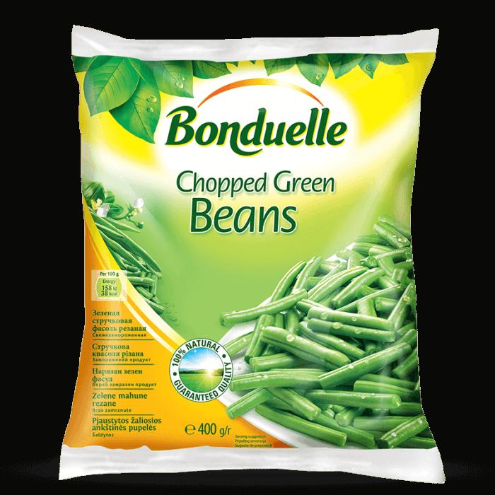 Rezana zelena boranija, brzo smrznuta