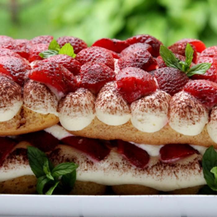 Tiramisu - италиански десерт с маскарпоне