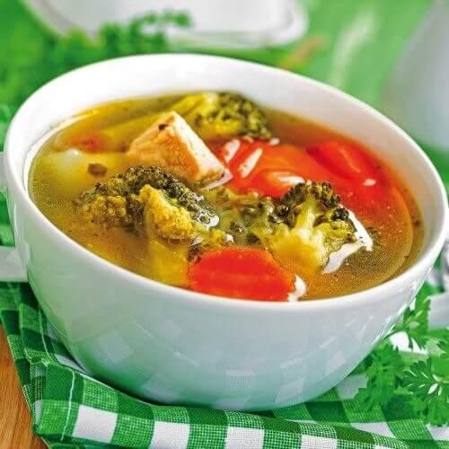 Супа пролетен микс