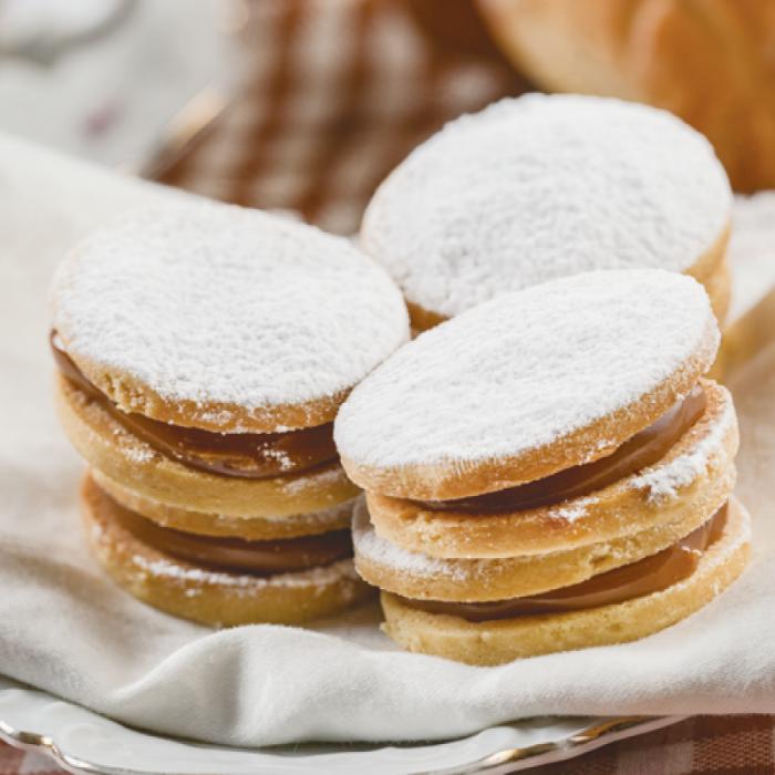 Aлфахорес - aржентински бисквити с тофу