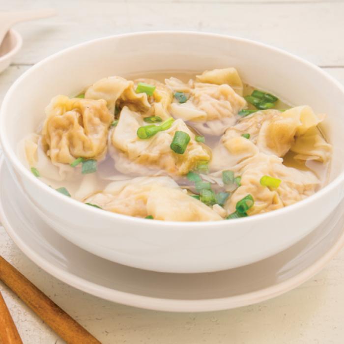 Won ton – китайски пелмени пълнени с морски дарове и месо