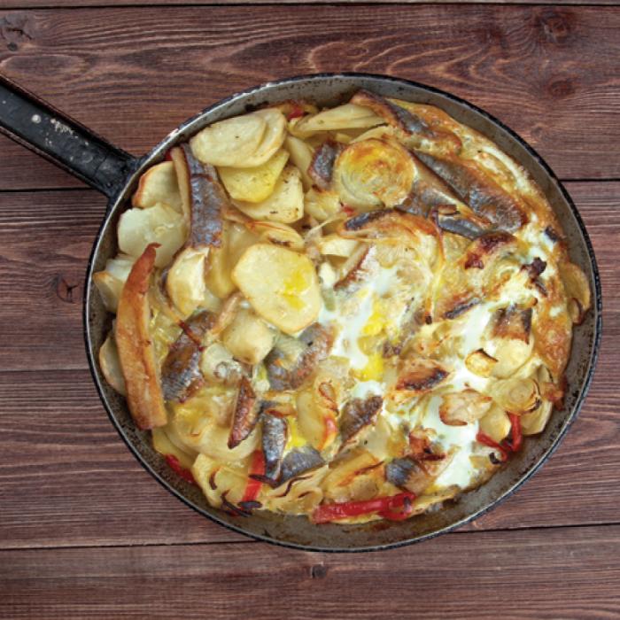 Калалаатикко – финска запеканка с риба и картофи