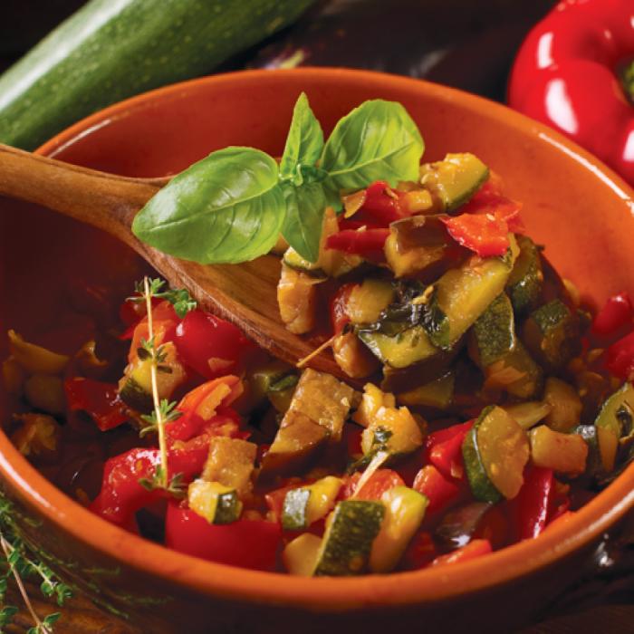 Ratatouille - рататуй, зеленчуково ястие от Ница