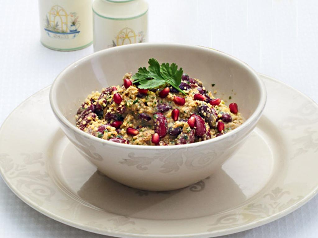 Γιορτινό ορεκτικό με κόκκινα φασόλια