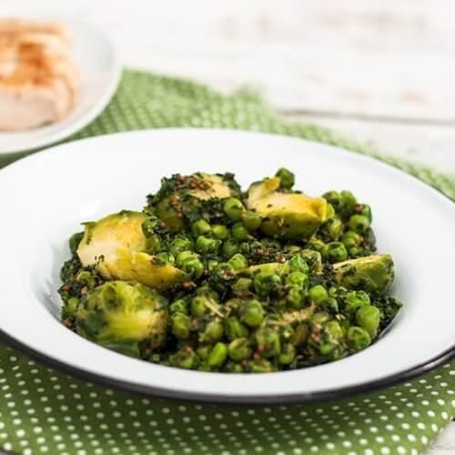 Λαχανικά της Άνοιξης με ελαφριά γεύση μουστάρδας