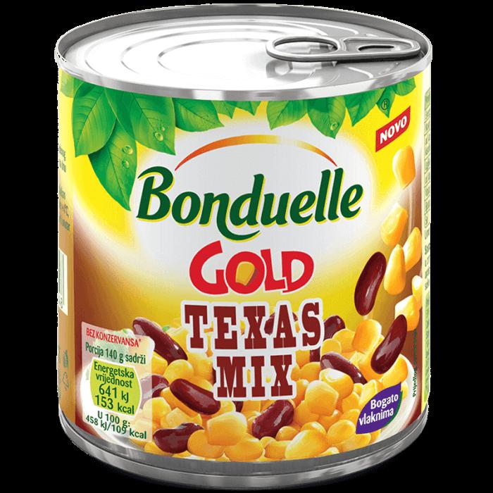 Teksas mix GOLD, mješavina povrća, vakumiran