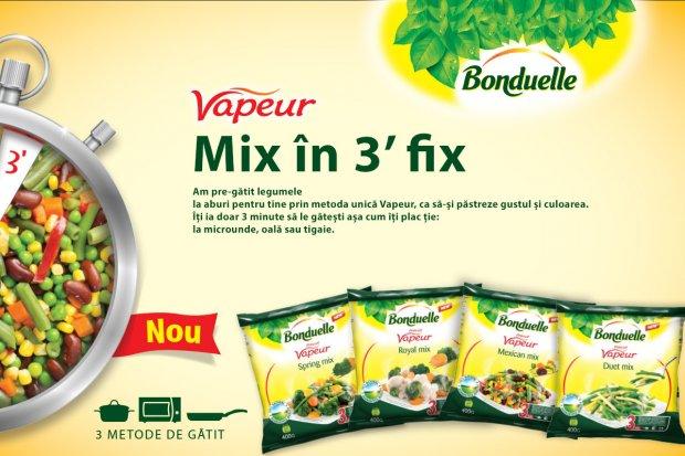 Vapeur – Mix în 3 minute fix!