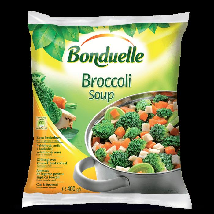 Amestec de legume pentru supă cu broccoli