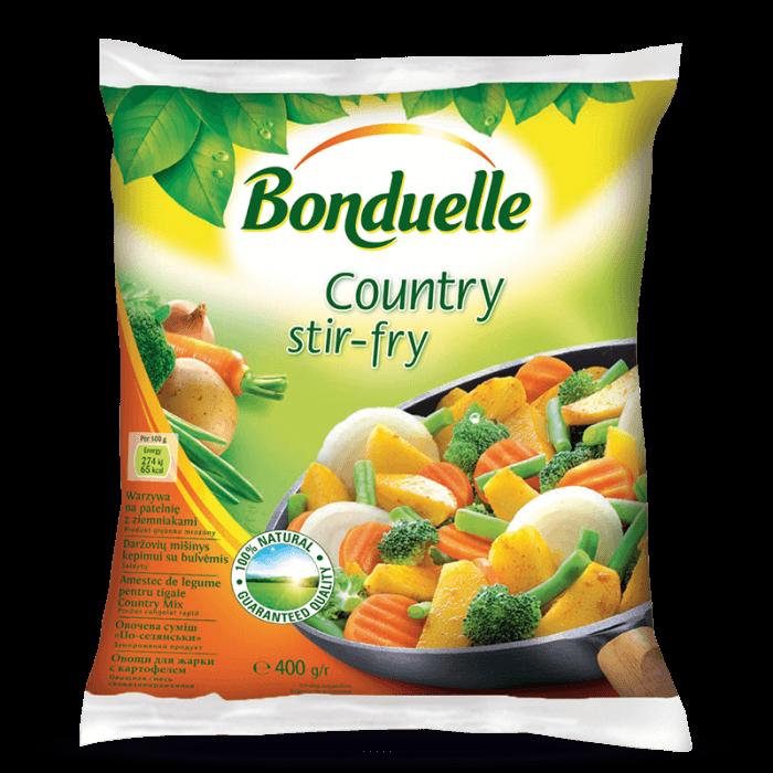 Amestec de legume pentru tigaie cu Cartofi, Country Stir-Fry