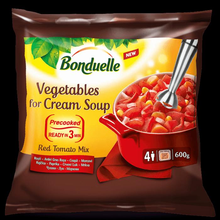 Amestec de legume pentru supă cremă Red Tomato Mix