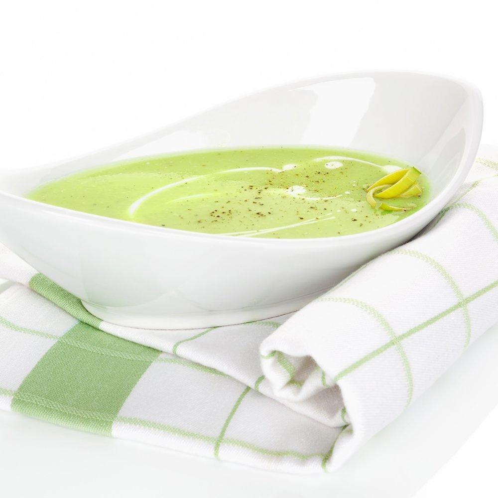 Supă cremă de legume de praz, morcovi și napi cu șofran și miere
