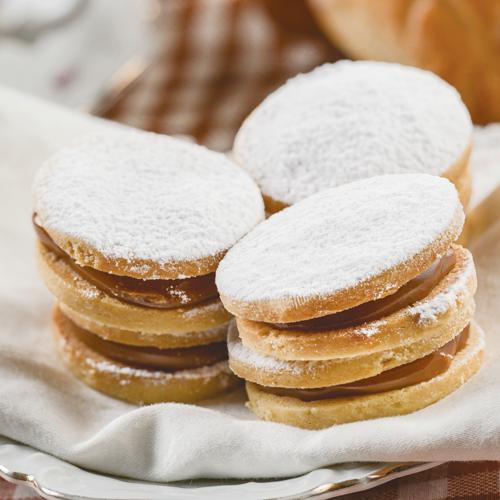 Alfajores - prăjitură cu caramel