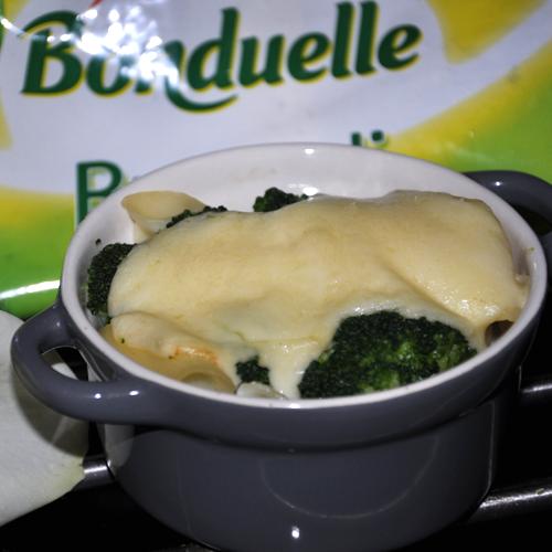 Budincă de paste cu broccoli