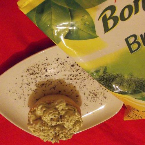 Coșulețe cu pastă de broccoli