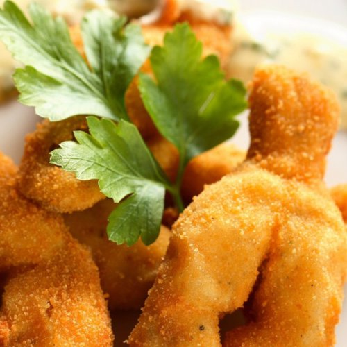 Cuisses de grenouilles - pulpe de pui de baltă în sos de vin alb