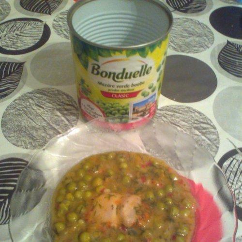 Mâncărică de mazăre cu carne de pui