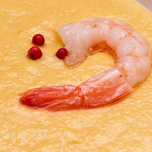 Supă cremă de porumb cu creveți