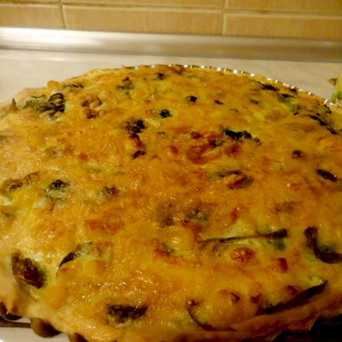 Tartă cu broccoli și porumb Bonduelle