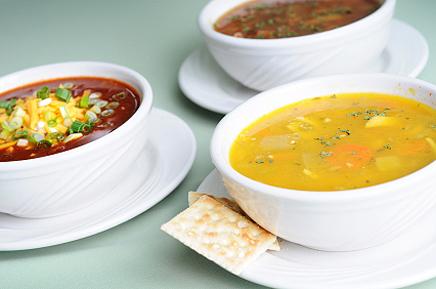 Таблица калорийности супы
