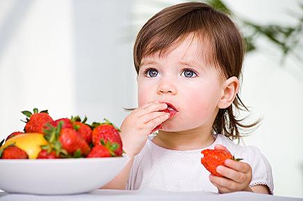 Таблица калорийности для детей