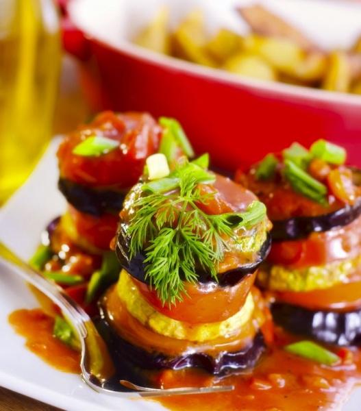Рататуй - французское блюдо из овощей