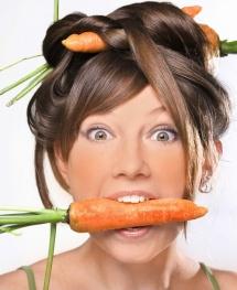 Морковь и красивый загар