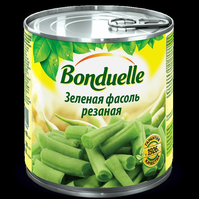 Стручковая фасоль зеленая резаная