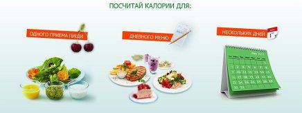 Подсчет калорий - здоровый образ жизни вместе с Бондюэль