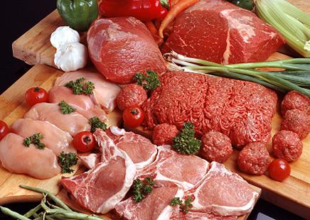 Таблица калорийности мяса