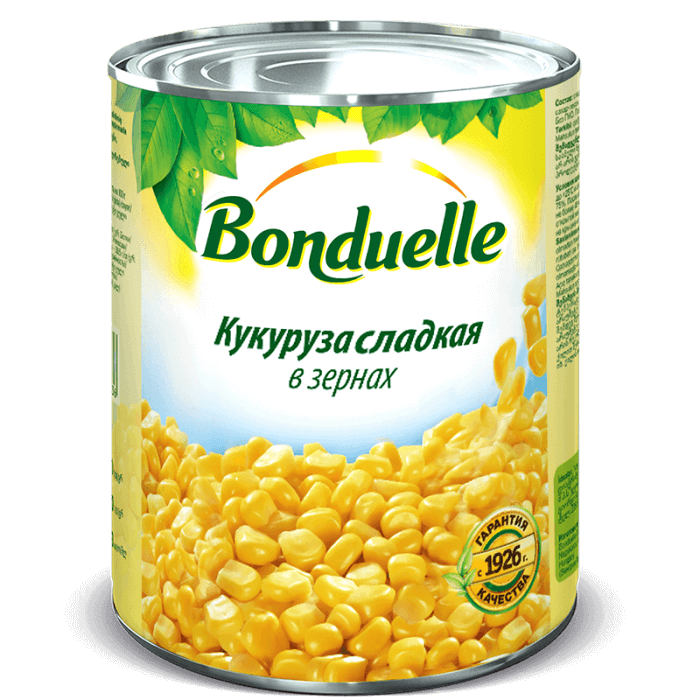 Кукуруза сладкая в зернах