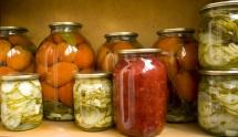 Маринованные и квашеные овощи