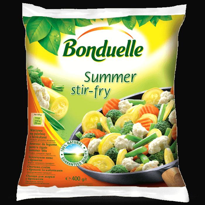 Овощная смесь с брокколи и кабачками