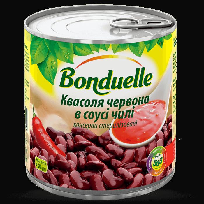 Фасоль красная в соусе чили