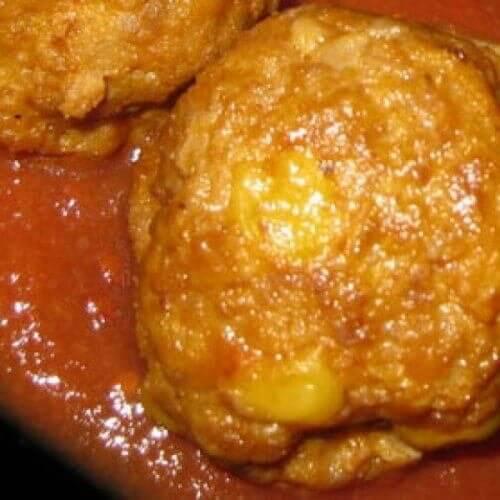 """Тефтели """"Золотая кукуруза"""" в томатном соусе"""