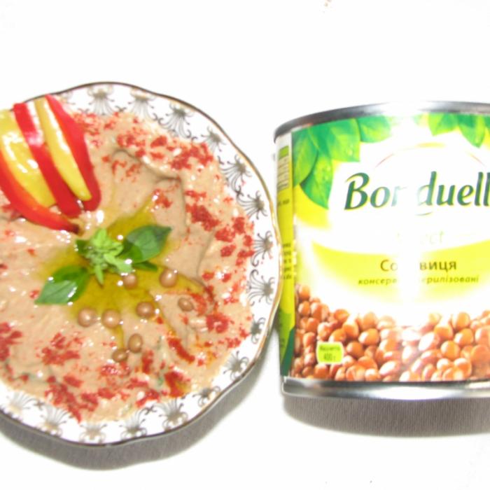 """Хумус из чечевицы """"Бондюэль"""""""