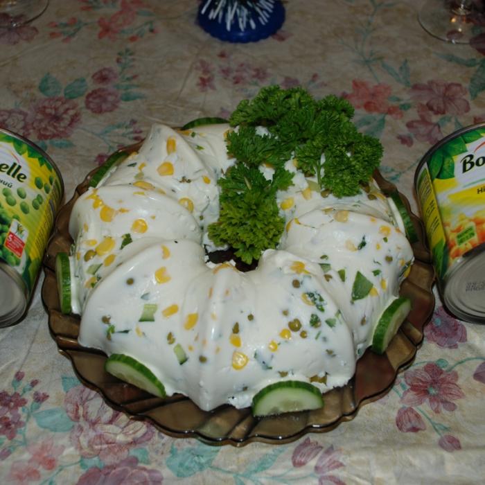 Салат заливной «Белое чудо»