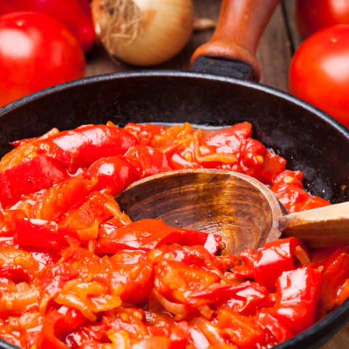 Лечо - традиционное венгерское блюдо