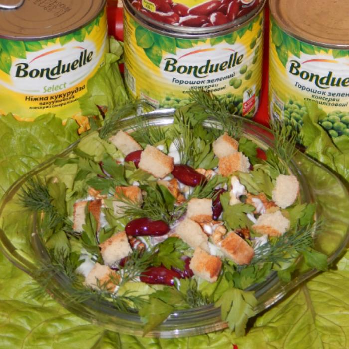 """Салат весенний """"Кладезь витаминов"""""""