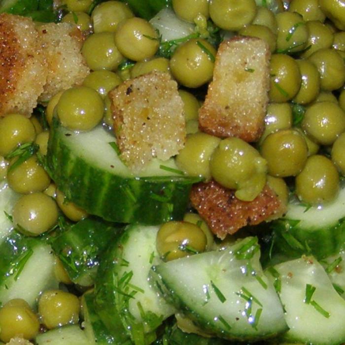 Салат «Зеленое настроение Бондюэль»