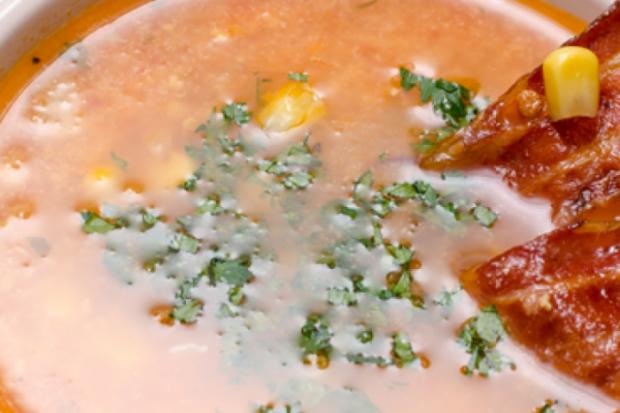 Мексиканський кукурудзяний суп