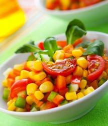 Рецепти гарнірів з овочами