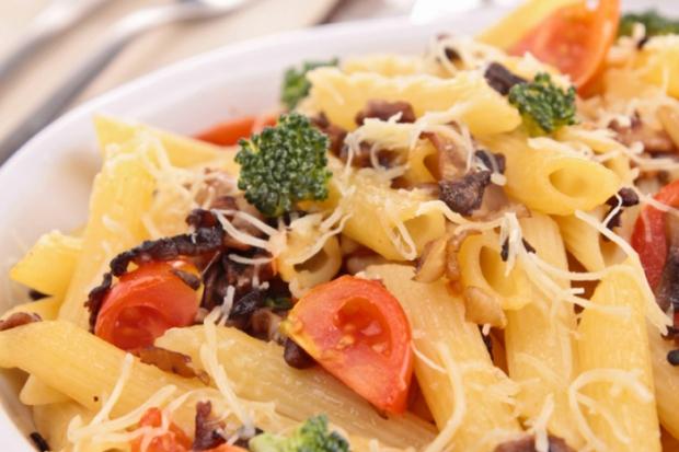 Неперевершено: макарони з сиром та грибами Бондюель