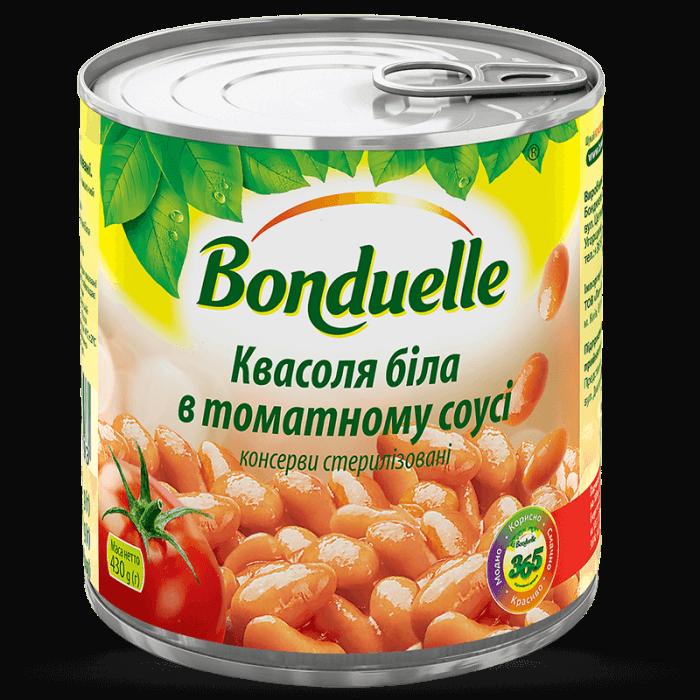 Квасоля біла в томатному соусі
