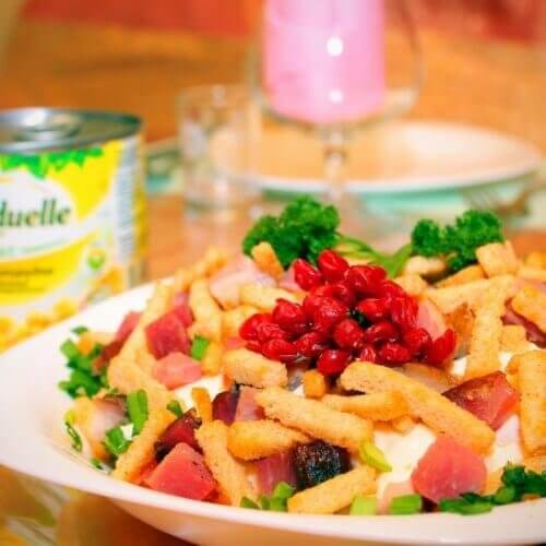 "Святковий салат ""Bonduelle"""