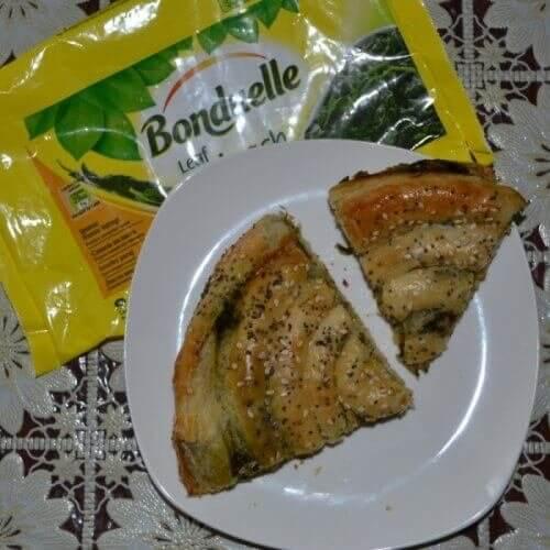 Спанакопіта (пиріг зі шпинатом і сиром)