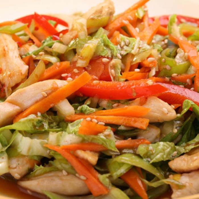 В'єтнамський салат із курки